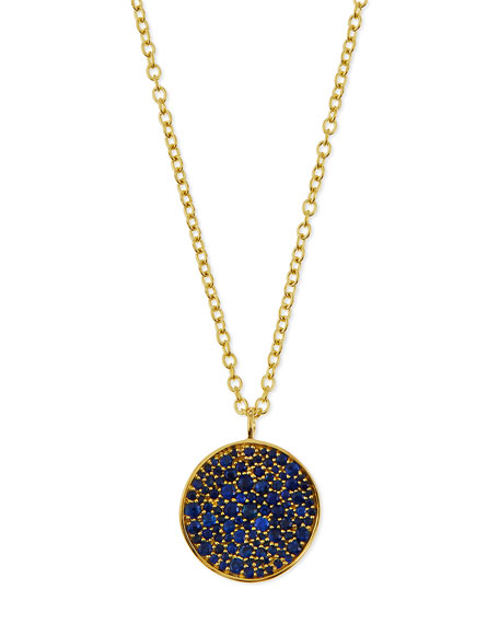 Ippolita 18k Glamazon Stardust Flower Necklace with Blue