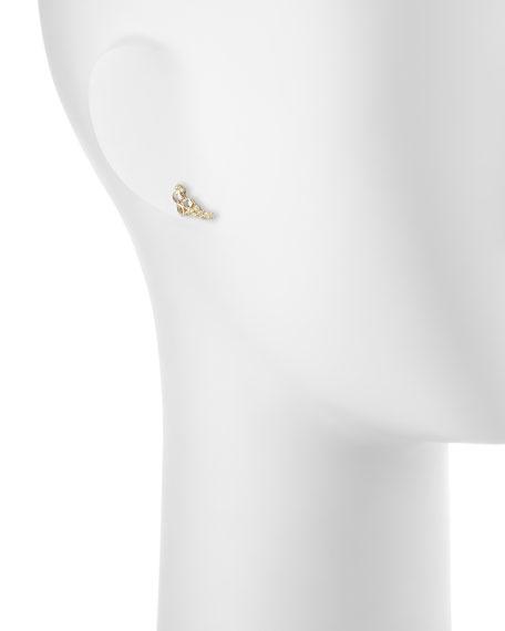 Sueño 18k Petite Cluster Climber Earrings