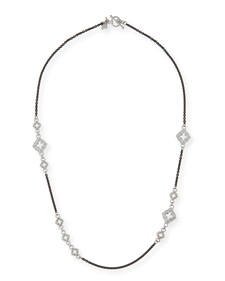 Armenta New World Diamond Cravelli Chain Necklace, 20