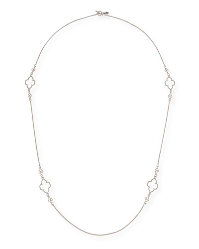 New World Scroll Station Necklace, 36