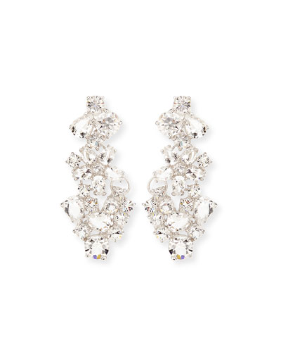 boathouse crystal chandelier earrings