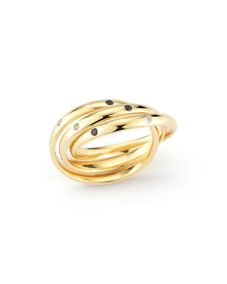 Elizabeth and James Ollie Mila Triple Intertwined Ring