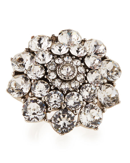 Image 1 of 1: CRYSTAL JEWELED RING