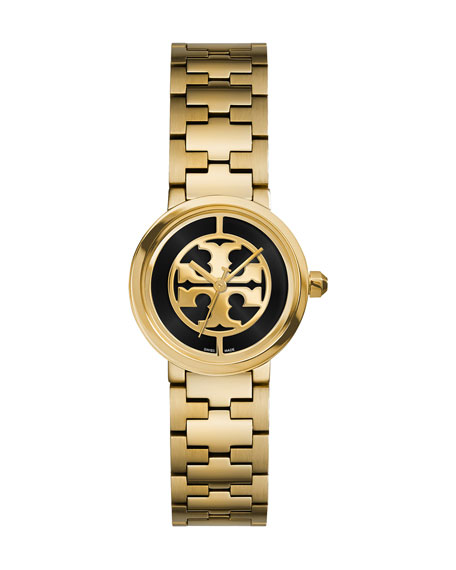 Tory Burch Reva Golden Bracelet Watch, 28mm