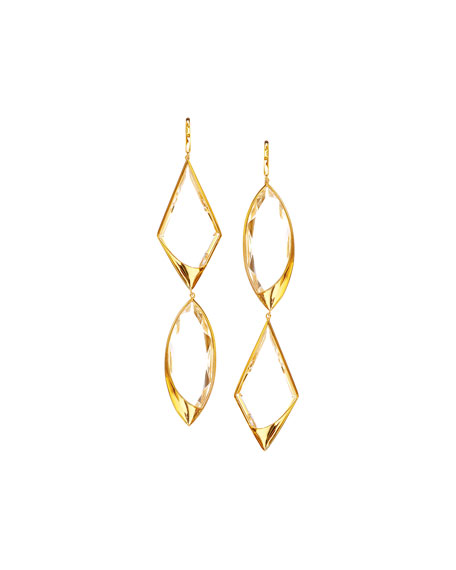Lana 14k Elite Jetset Crystal Remix Earrings