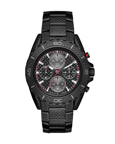Jetmaster 45mm Carbon Fiber Chronograph Watch
