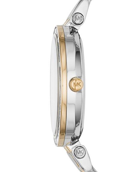 33mm Mini Darci Two-Tone Bracelet Watch