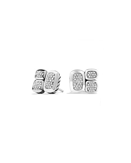 David Yurman Confetti Diamond Stud Earrings