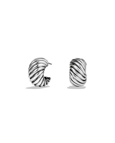 Cable Classics Hoop Earrings