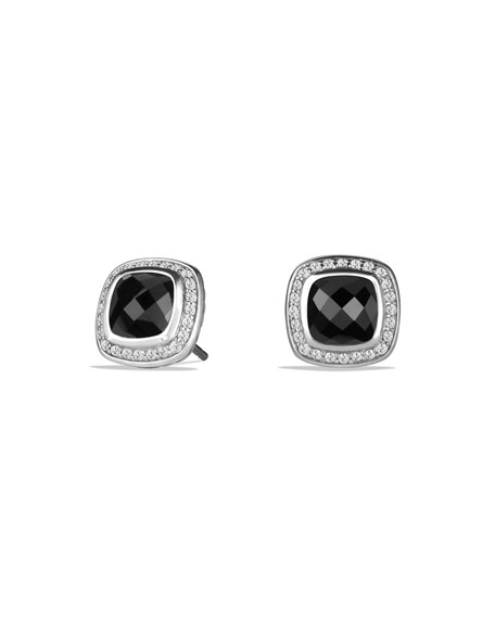 David Yurman11mm Albion Onyx Stud Earrings