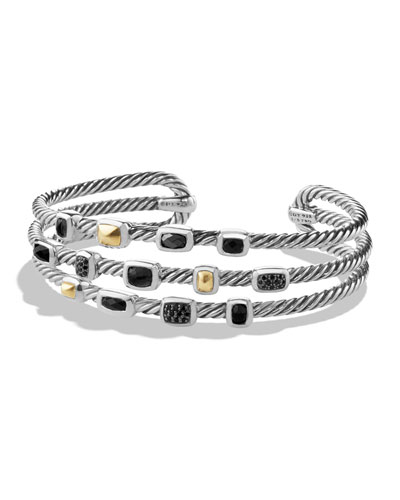 DAVID YURMAN Confetti Narrow Mixed-Station Bracelet