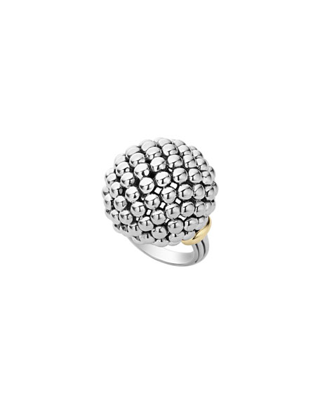LAGOS Caviar Forever Large Dome Ring, Size 7