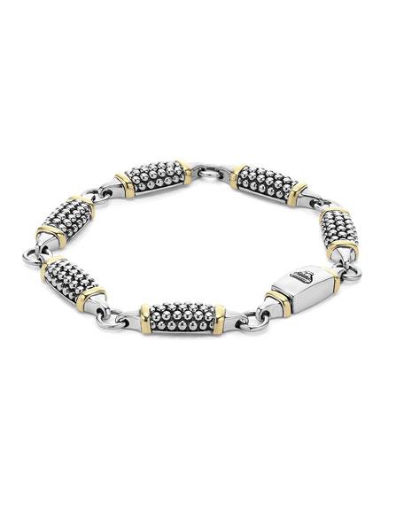 6mm Caviar Link Station Bracelet