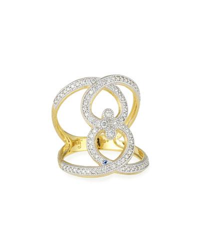 Provence Open Work Diamond Ring