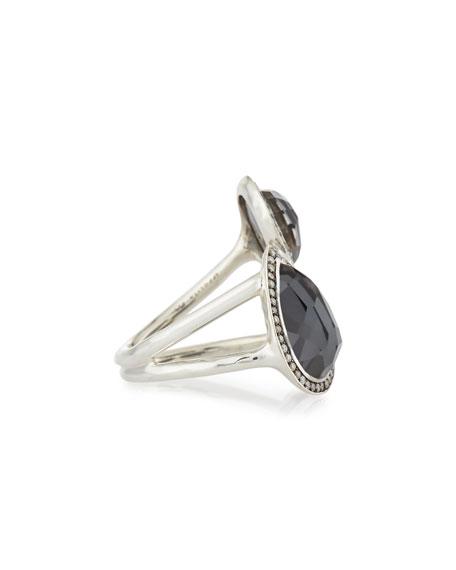 Stella Hematite & Diamond Cocktail Ring