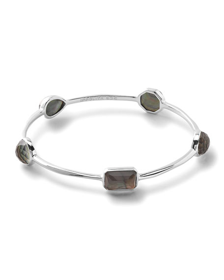 Rock Candy 5-Stone Mother-of-Pearl Bangle