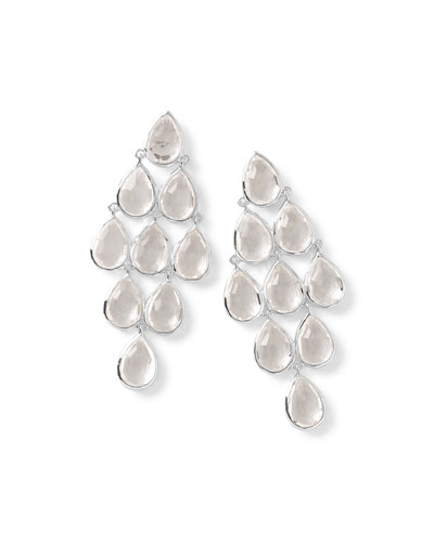 Rock Candy® Cascade Earrings in Clear Quartz