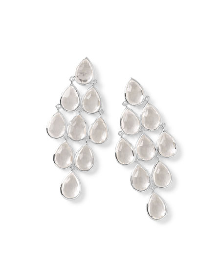 Ippolita Rock Candy® Cascade Earrings in Clear Quartz