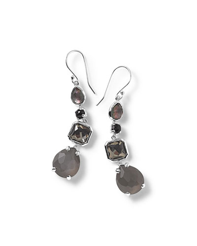 Rock Candy® Black Tie Drop Earrings