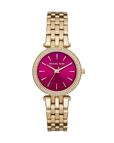 Mini Darcy 33mm Golden Bracelet Watch