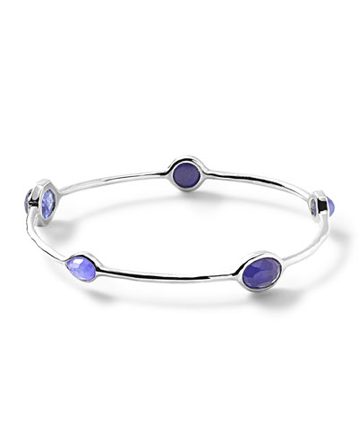 925 Rock Candy Station Bangle Bracelet, Odyssey
