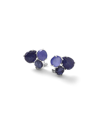 925 Rock Candy Cluster Stud Earrings, Odyssey