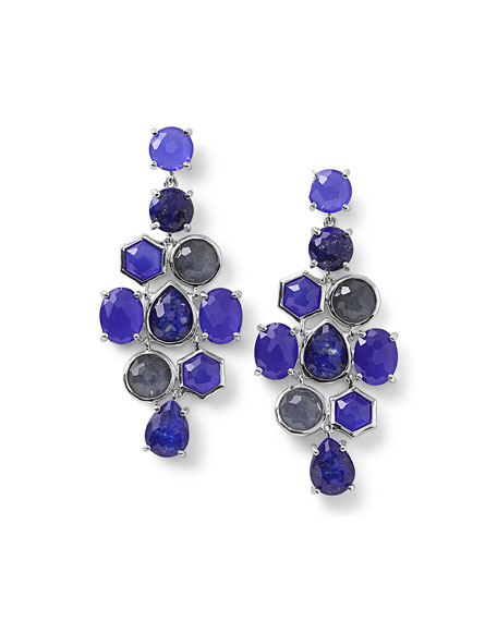 Ippolita 925 Rock Candy Cascade Earrings in Odyssey