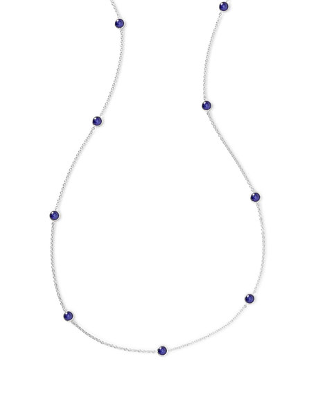 Ippolita 925 Rock Candy Long Station Necklace in Lapis, 48