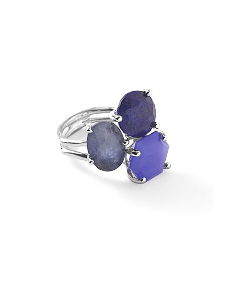 925 Rock Candy 3-Stone Cluster Ring, Odyssey
