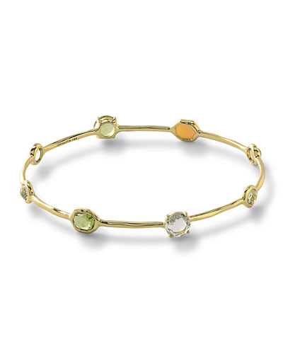 18k Rock Candy® Mountain 8-Stone Bangle