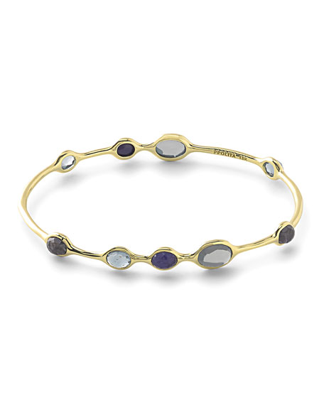 Ippolita 18k Rock Candy® 9-Station Bangle in Liberty