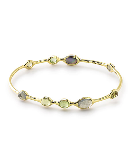 18k Rock Candy® 9-Station Bangle in Mountain