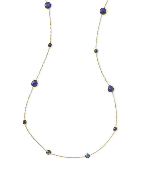 Ippolita 18k Rock Candy® Liberty Station Necklace, 42