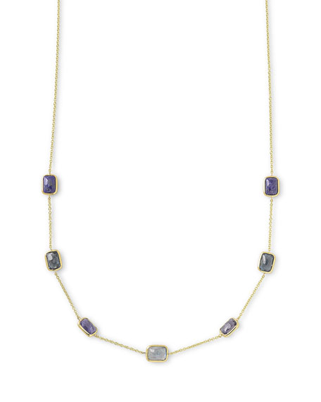 Ippolita 18k Rock Candy® Mini Rectangle Liberty Necklace, 16-18