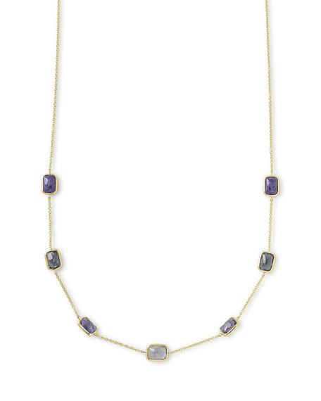 Ippolita 18k Rock Candy® Mini Rectangle Liberty Necklace, 16-18