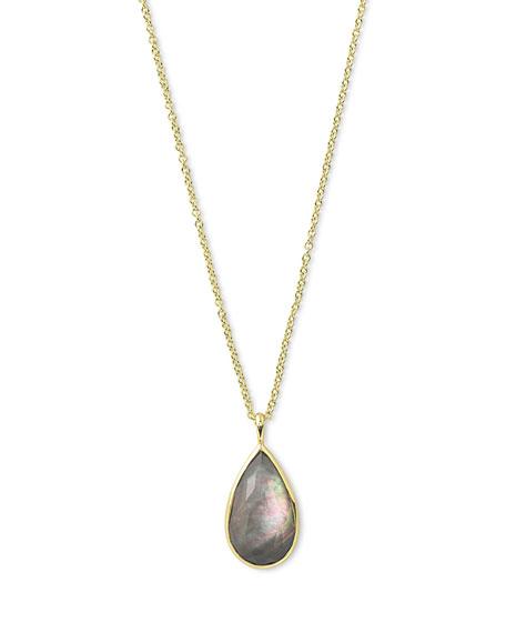 Ippolita Rock Candy® Teardrop Pendant Necklace in Black