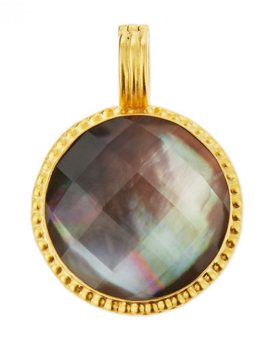 Smoky Quartz & Mother-of-Pearl Doublet Enhancer