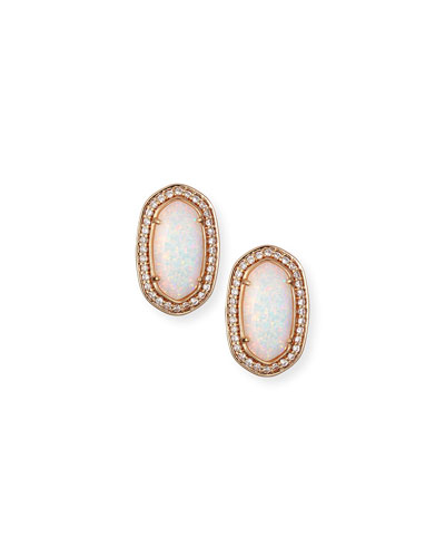 Elaine Iridescent Earrings