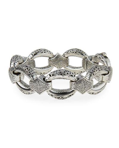 Sterling Silver Link Bracelet
