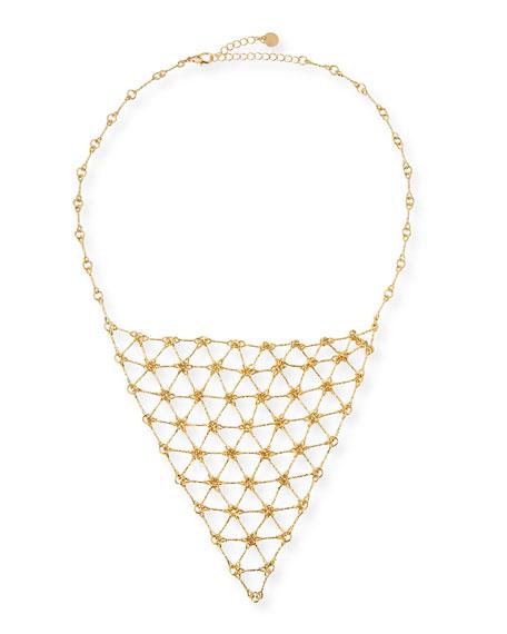 Jules Smith Charlotte's Web Bib Necklace