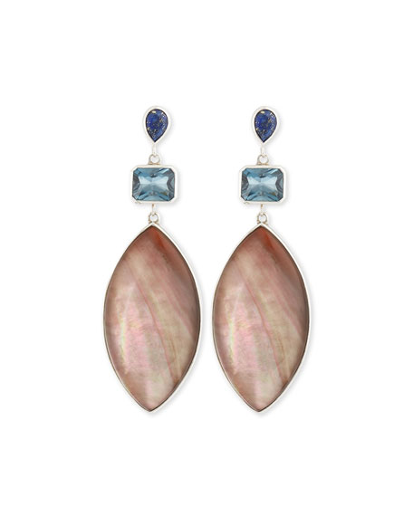 Stephen Dweck Cyprus Marquise Mother-of-Pearl Earrings