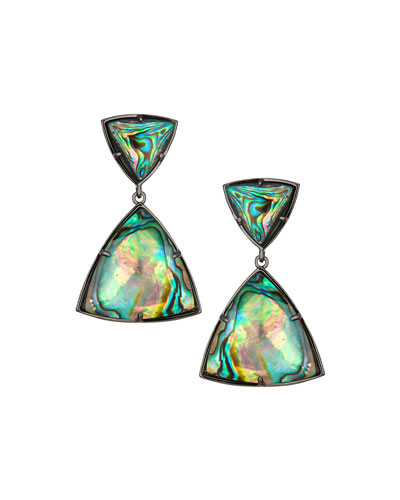 Maury Abalone Shell Earrings