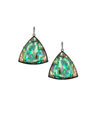 Nikki Abalone Shell Earrings