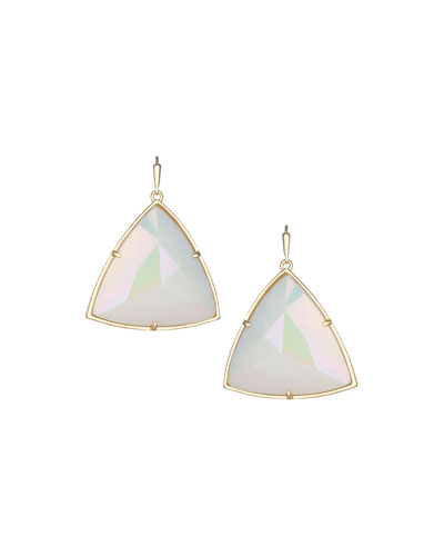 Nikki Iridescent Glass Earrings