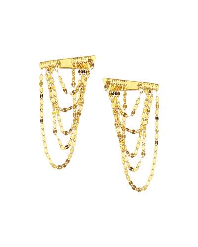 14K Gold Elite Small Draping Earrings