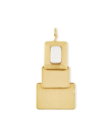 Stephanie Kantis 24K Gold-Plated Window Pendant