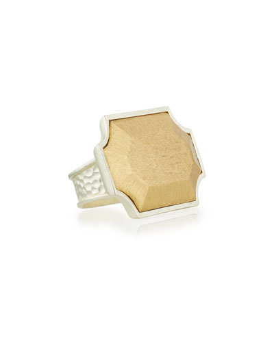 Virtue 24K Gold & Sterling Silver Ring