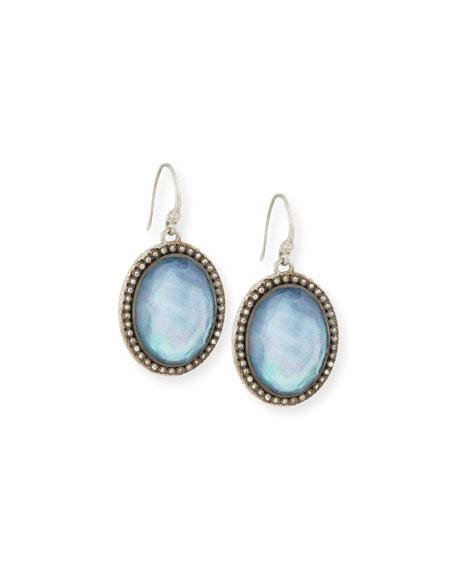 Armenta New World Blue Sapphire Doublet Earrings