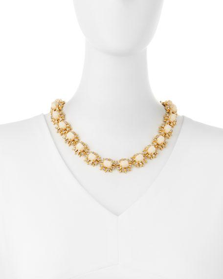 Solstice Crystal Collar Necklace