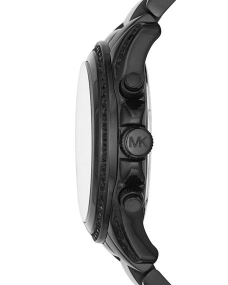 Blair 33mm Chronograph Watch, Black